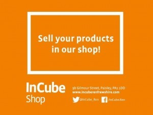 Sell your products in InCube Shop!