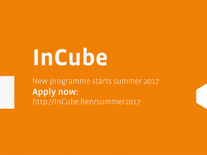 [past event] Act quick! Summer 2017 Intake – applications are now open!