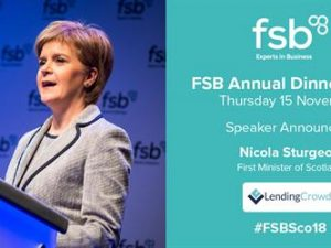First Minister to address Scotland's small business community – Global Entrepreneurship Week