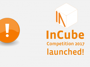 [past event] InCube competition 2017 launched!