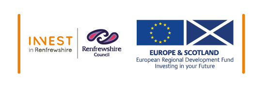 InCube is Renfrewshire Council project supported by ERDF