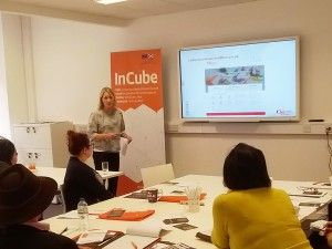 InCube businesses met with Cultural Enterprise Office