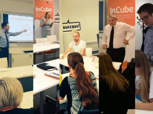 A very busy first half of the August at the InCube