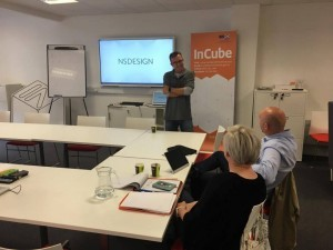 Gary Ennis spoke to our new InCube intake