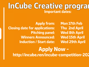 InCube Creative Programme 2020