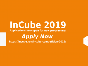 2019 InCube Applications now open!